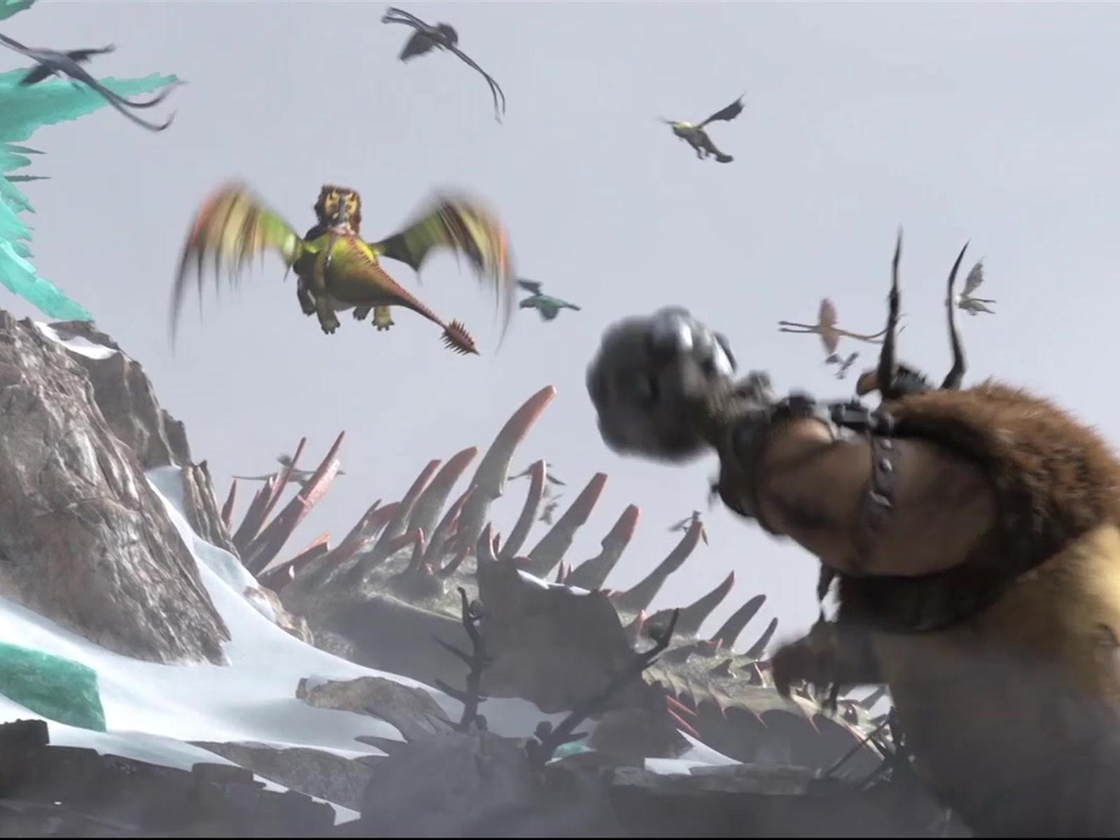 how to train your dragon 2 trailer in hindi