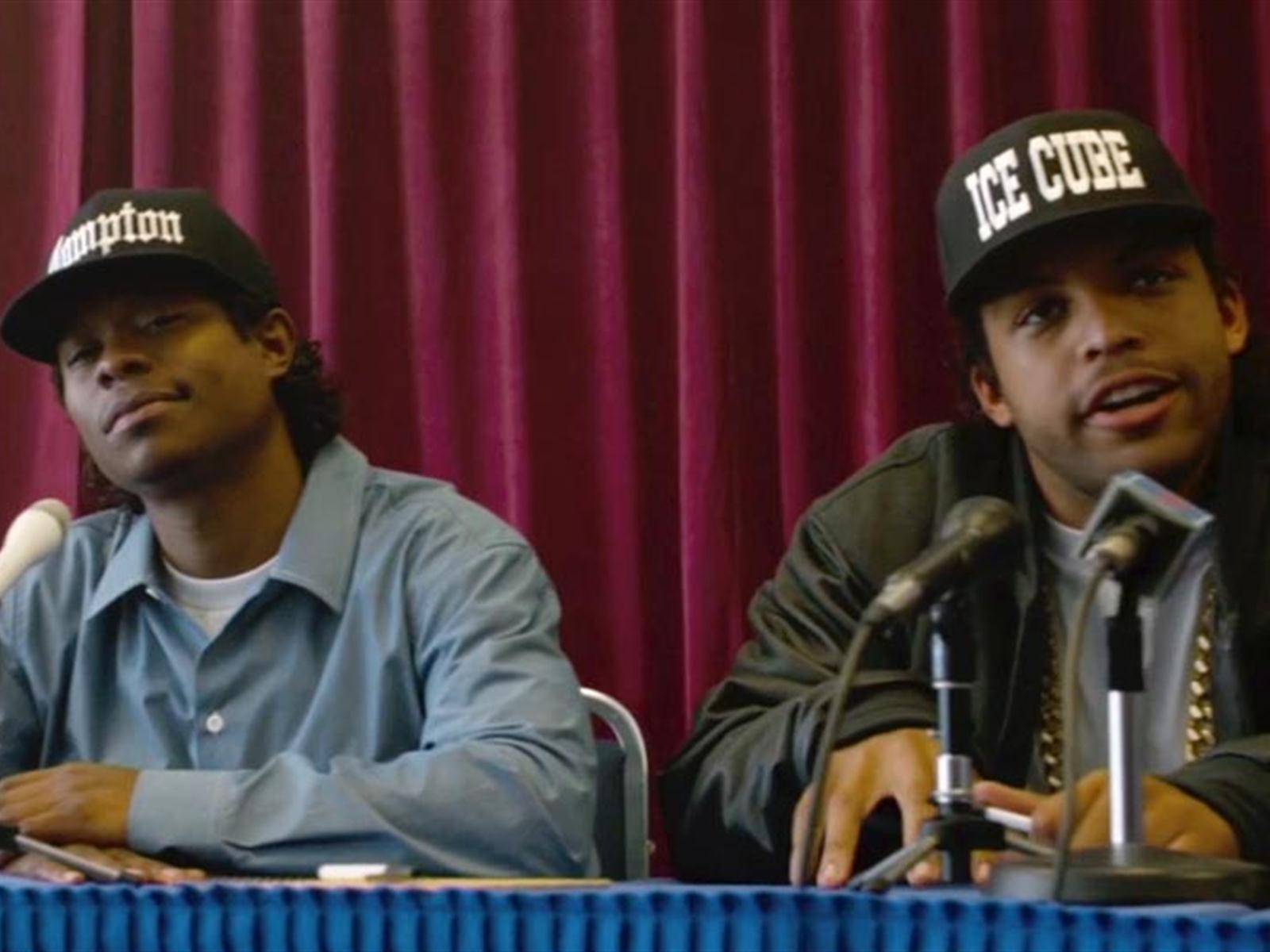 the life of eazy e in straight outta compton a movie by f gary gray